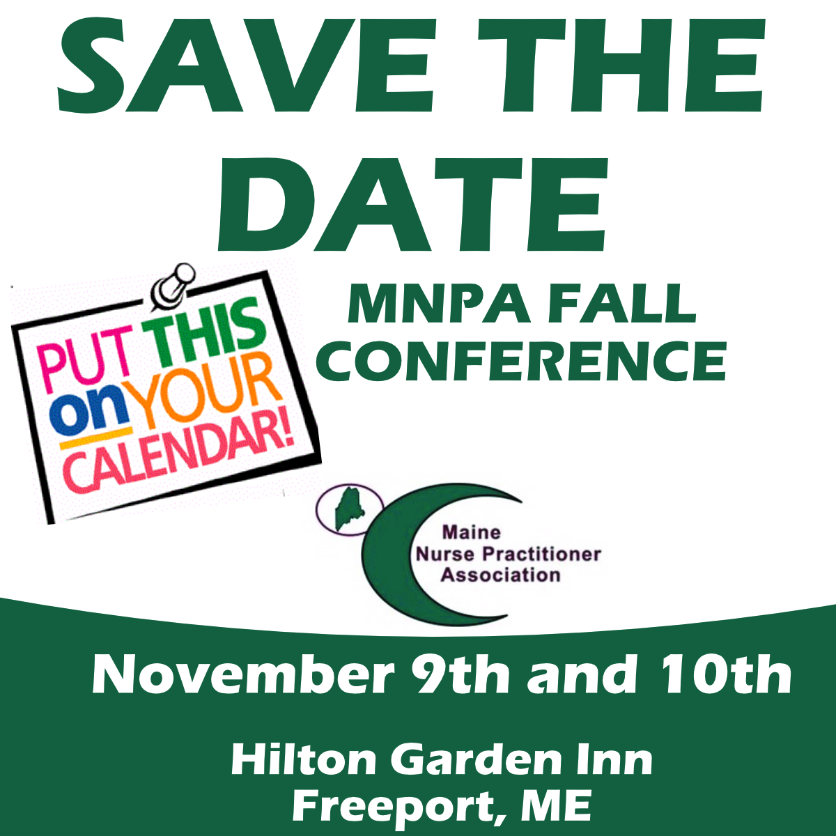 MNPA Fall Conference Save the Date